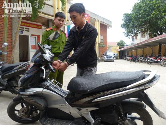 Thiết bị định vị xe máy - Nạn đánh cắp tài sản hoành hành tại Hà Nội
