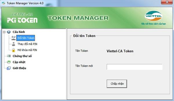 sử dụng token