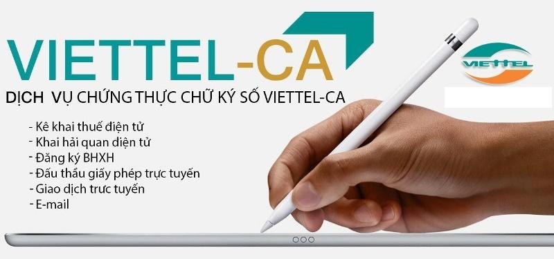 chữ ký số viettel có rất nhiều ứng dụng tiện ích