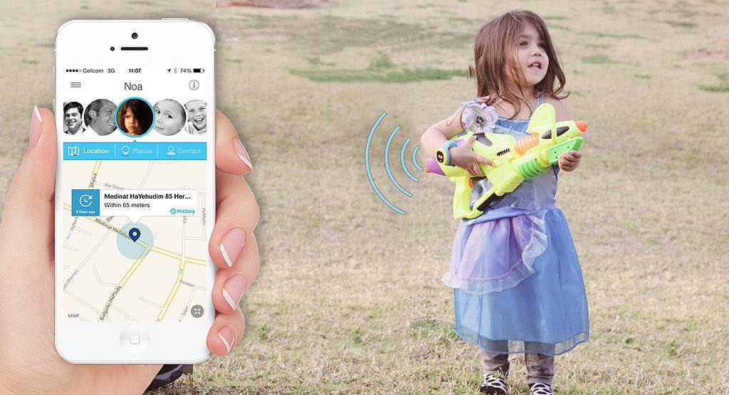 Định vị GPS cho trẻ em